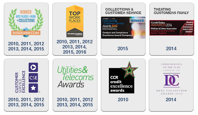 Phillips & Cohen Associates (Canada) Awards and Accolades